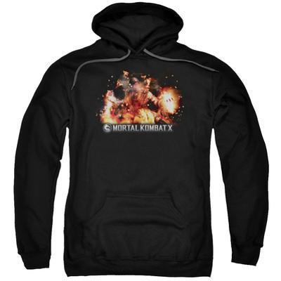 Hoodie: Mortal Kombat X- Scorpio Flame Attack