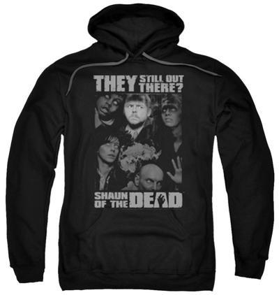 Hoodie: Shaun Of The Dead - Still Out There