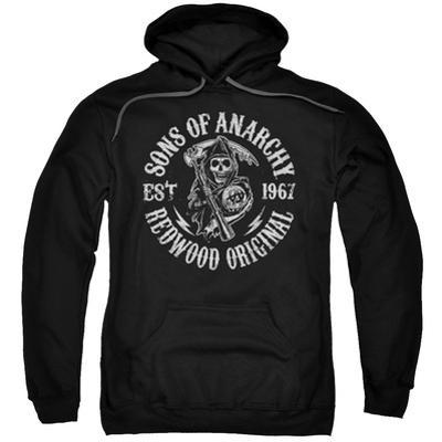 Hoodie: Sons Of Anarchy - Redwood Originals