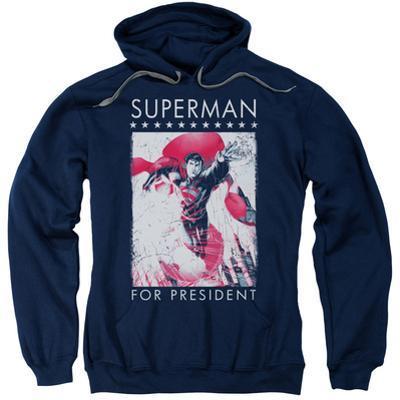 Hoodie: Superman- Hero For President