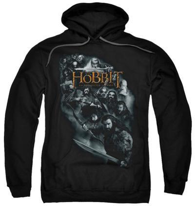Hoodie: The Hobbit: An Unexpected Journey - Cast Of Characters