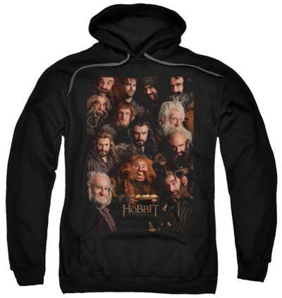 Hoodie: The Hobbit: An Unexpected Journey - Dwarves Poster