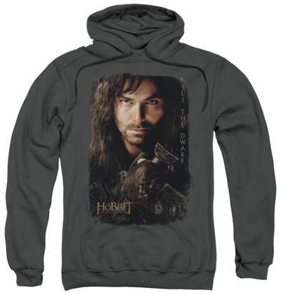 Hoodie: The Hobbit: An Unexpected Journey - Kili Poster