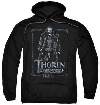 Hoodie: The Hobbit: An Unexpected Journey - Thorin Stare