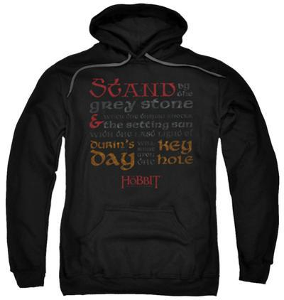 Hoodie: The Hobbit: The Desolation of Smaug - Keyhole