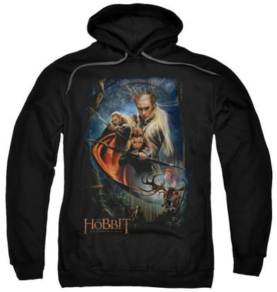 Hoodie: The Hobbit: The Desolation of Smaug - Thranduil's Realm