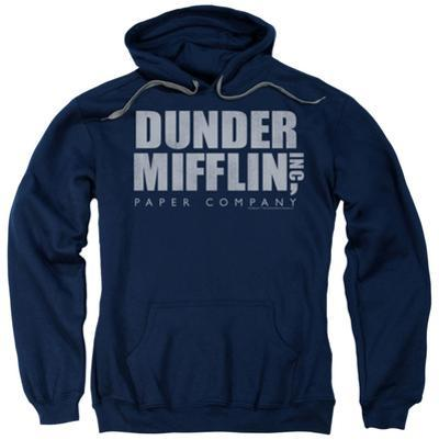 Hoodie: The Office - Dunder Mifflin Distressed
