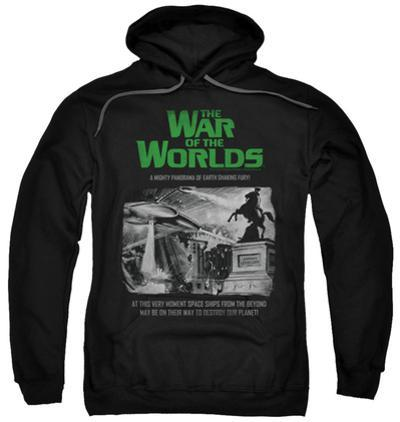 Hoodie: The War Of The Worlds - Attack People Poster