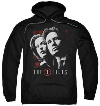 Hoodie: The X-Files - Mulder & Scully