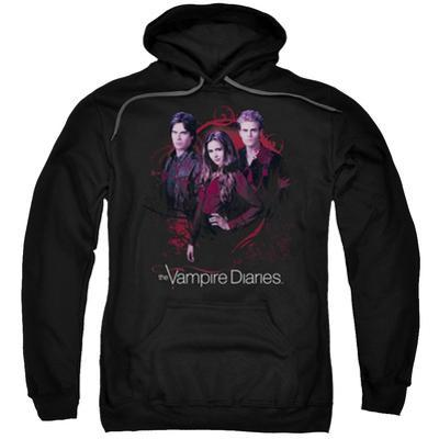 Hoodie: Vampire Diaries- Company Of Three