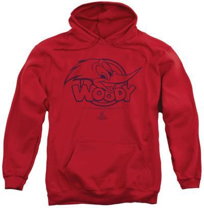 Hoodie: Woody Woodpecker - Big Head