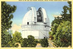 Hooker Reflector Telescope, Mt. Wilson