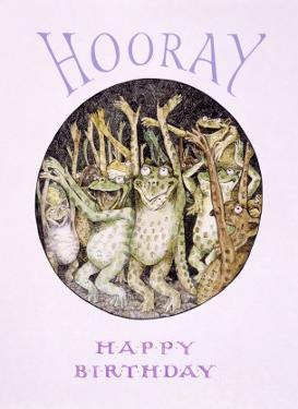 Hooray! Frog's Happy Birthday