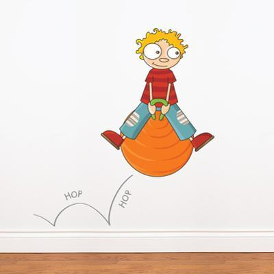 Hop Hop Wall Decal