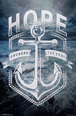 Hope Anchors (Hebrews 6:19)