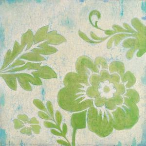 Green Floral by Hope Smith