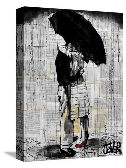 Hopeless Romantics-Loui Jover-Stretched Canvas