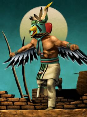 Hopi Eagle Dancer Kachina
