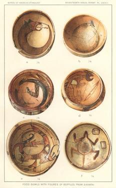 Hopi Polychrome Bowls from Sikyatki