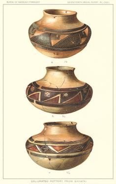 Hopi Polychrome Pots from Sikyatki