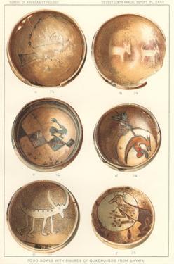 Hopi Polychrome Pottery from Sikyatki