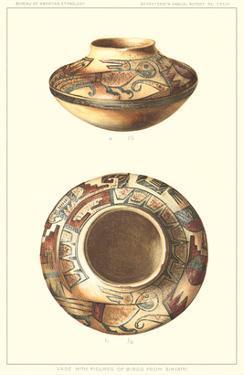 Hopi Vase with Bird Figures