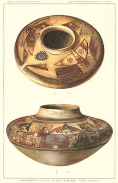 Hopi Vase with Butterflies