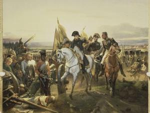 Napoleon on the Battlefield Friedland, June 14, 1807 by Horace Vernet