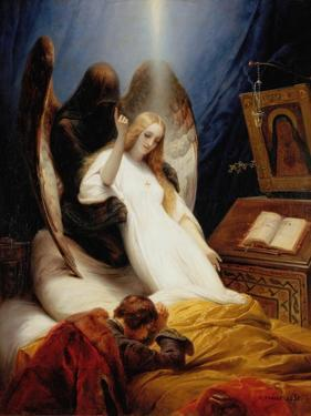 The Angel of Death, 1851 by Horace Vernet