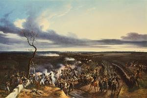 The Battle of Montmirail, 11 February, 1814 by Horace Vernet