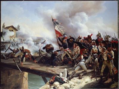 The Battle of Pont D'Arcole, 1826 by Horace Vernet