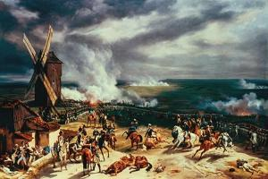 The Battle of Valmy, 20 September, 1792 by Horace Vernet