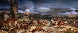 The Battle of Valmy, September 20th, 1792 by Horace Vernet