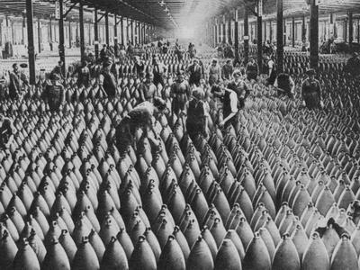 A munitions factory, World War I, 1917 (1938)