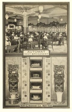 Horn and Hardart Automat, New York City
