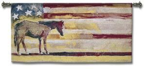 Horse and Flag