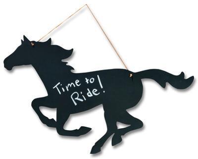 Horse Chalkboard Sign