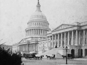 Horse-Drawn Carriages at U. S. Capitol