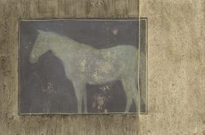 Horse in Textured Frame II
