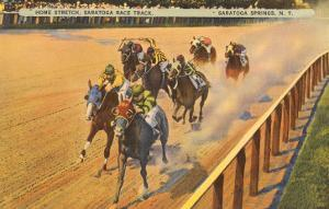Horse Racing, Saratoga Springs, New York
