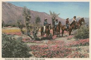 Horseback Riders Near Palm Springs