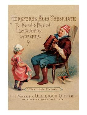 """Horsford's Acid Phosphate """"The Little Dancer"""""""