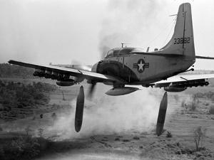 Vietnam War Bombing Run by Horst Faas