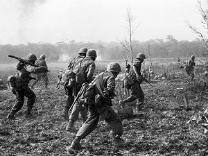 Vietnam War U.S. Reinforcements by Horst Faas