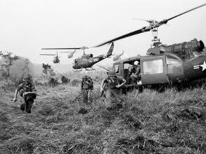Vietnam War U.S. Troops by Horst Faas