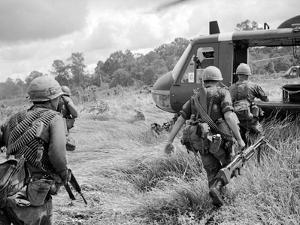 Vietnam War US 1st Infantry by Horst Faas