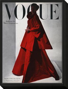 Vogue Cover - November 1946 by Horst P. Horst