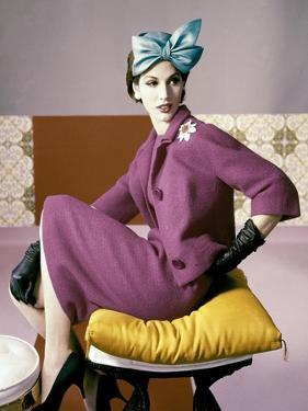 Vogue - March 1961 by Horst P. Horst