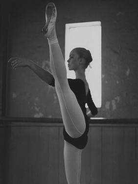 Vogue - October 1964 - At the Barre by Horst P. Horst