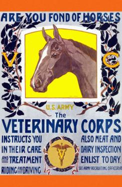 Join the Veterinary Corps by Horst Schreck